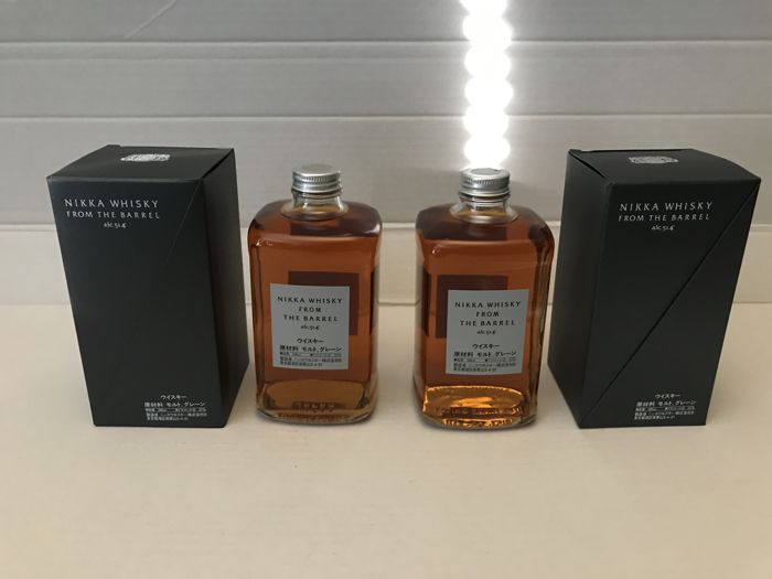 2 bottles - Nikka From the Barrel - 2x 50cl