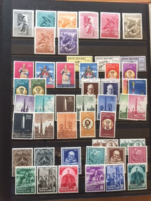 Postage Stamp Collection In Album