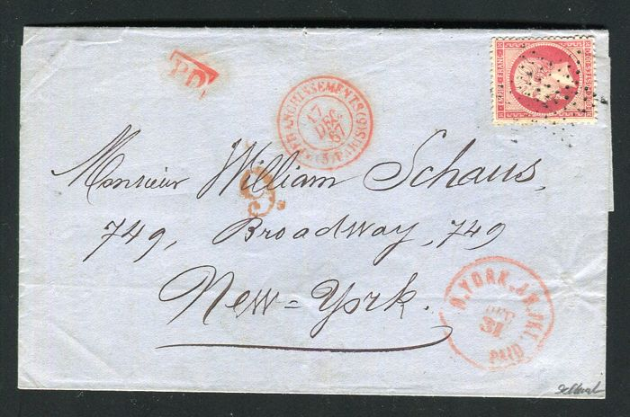 France - Letter from Paris to New York