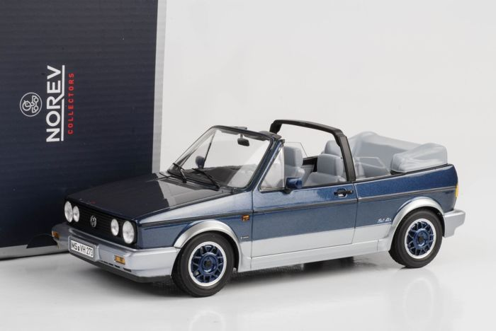 "Norev - Schaal 1/18 - Volkswagen Golf I Convertible "" Bel Air"" 1992"