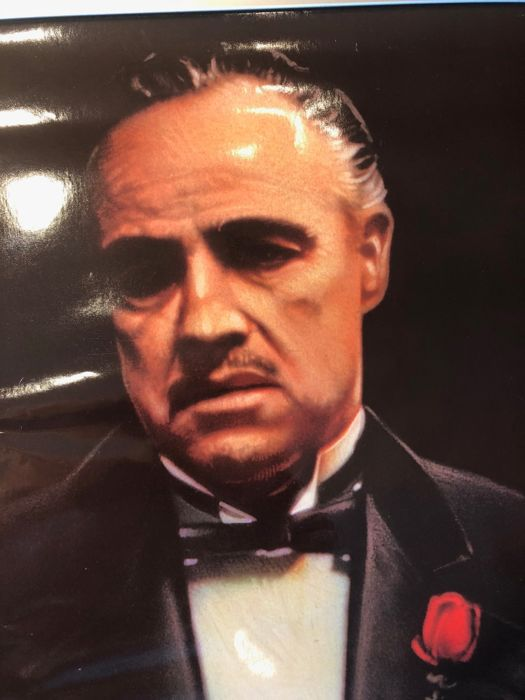 The Godfather part 1(Francis Ford Coppola) - 1991 promotional poster