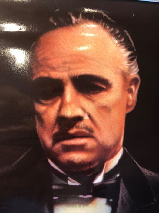 The Godfather part 1  (Francis Ford Coppola) - 1991 promotional poster