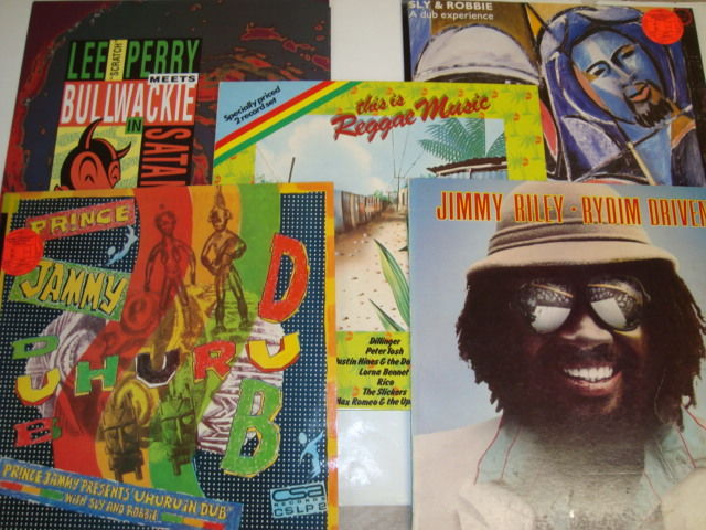 "Great Lot of Reggae/Dub LP's with Lee ""Scratch"" Perry Meets Bullwackie, Sly & Robbie, Black Uhuru, Prince Jammy, Jimmy Riley + 1 Double Reggae Compilation LP"