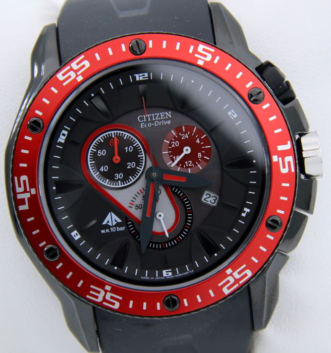"Citizen - Promaster Eco Drive Crono ""Sport Race"" - New - Heren - 2011-heden"