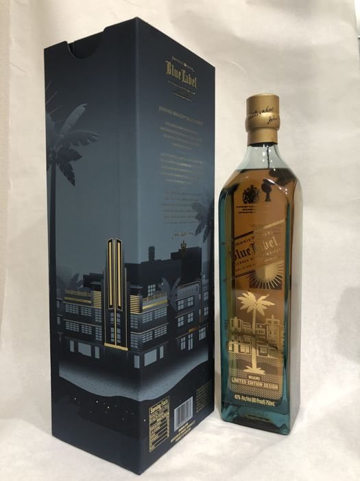 Johnnie Walker Blue Label - Miami - limited edition - 750ml