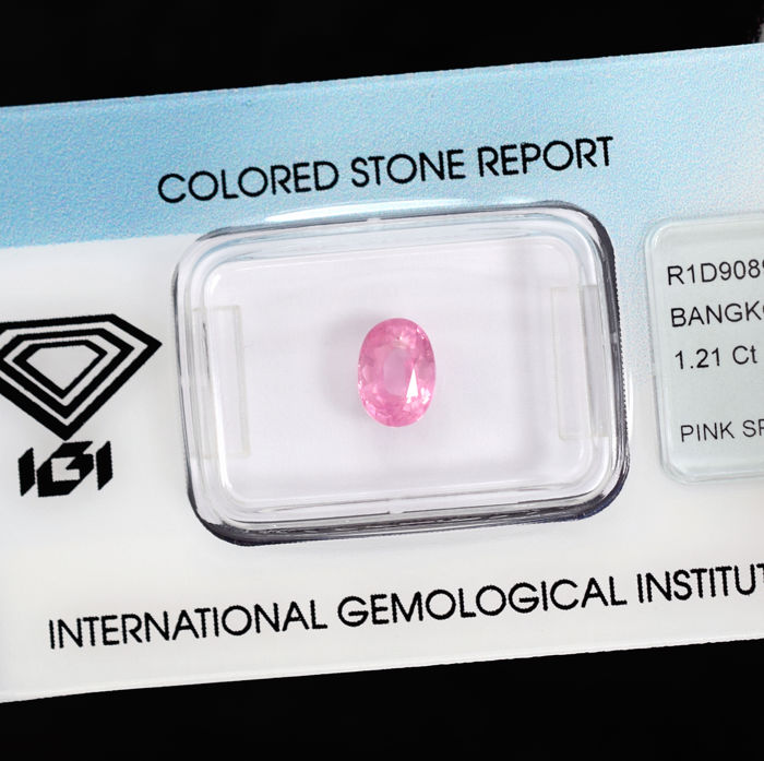Pink Spinel - 1.21 ct, No Reserve Price