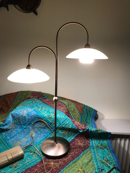 Steinhauer 2 Arm Table Lamp With Dimmer For Mood Lighting Catawiki