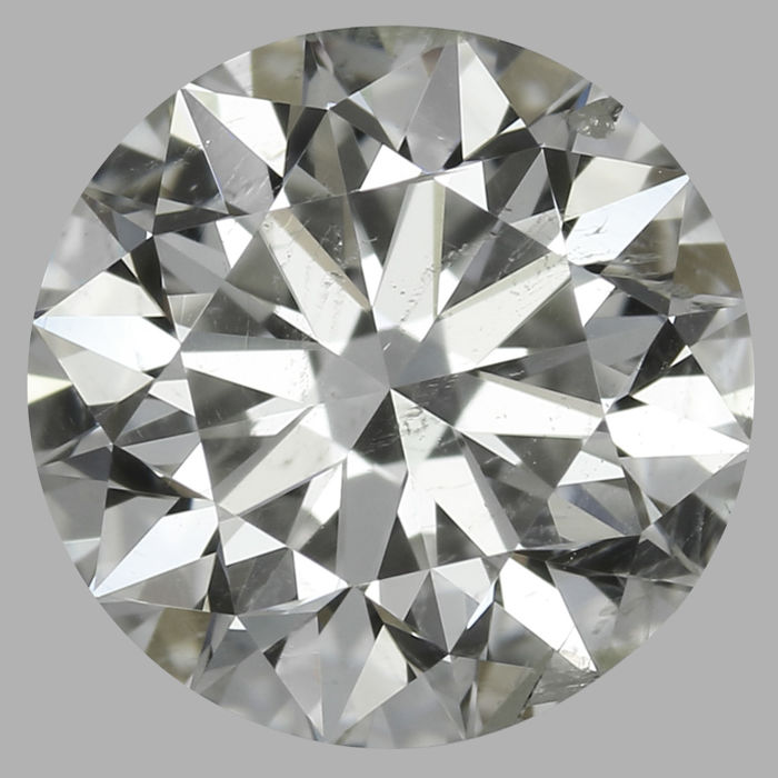 Round Brilliant Diamonds 0.70 ct  G SI2  IGI Certificate -Low Reserve Price- # 2015