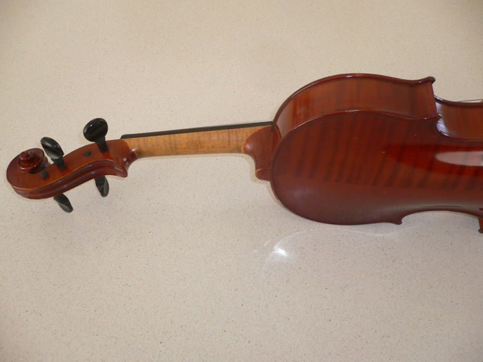 Old German violin, Stradivarius model, with a beautiful deep sound