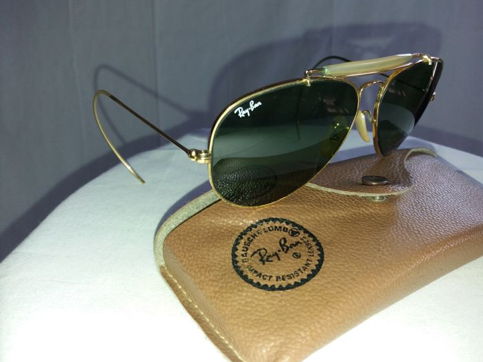 Ray-Ban - Pilot glasses 12k gold plated - Vintage