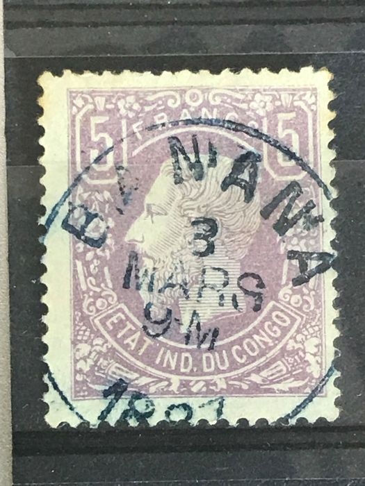 Congo Free State 1886 - Leopold II - OBP 5