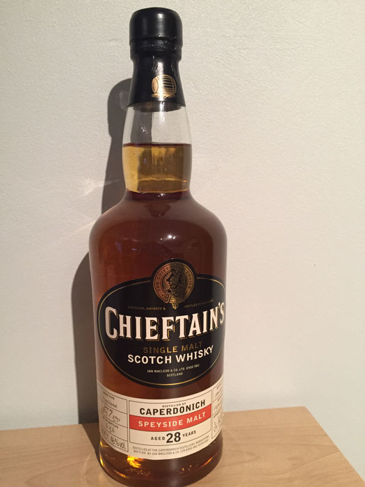 Caperdonich 28 years old 1974 Chieftain's Ian Macleod, 46%