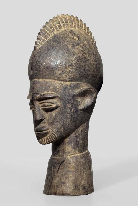 A Lobi head, Burkina Faso