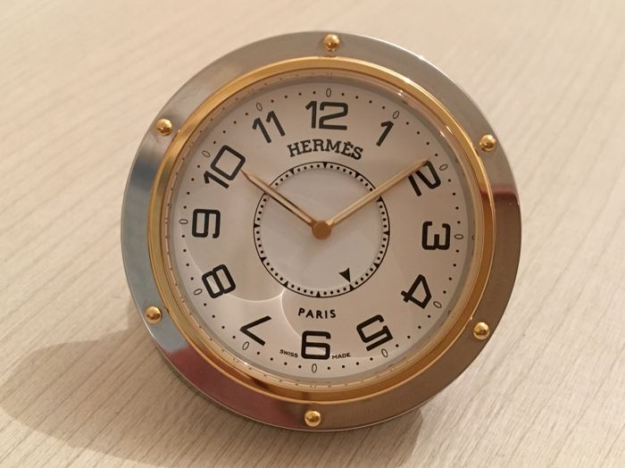 Hermes Clipper Alarm Clock - Excellent condition