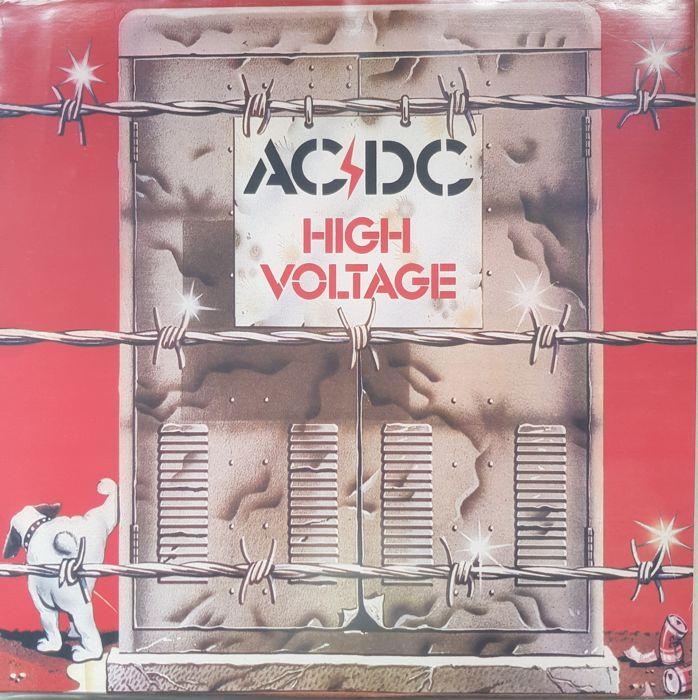 AC/DC  A Lot 2 LPs  High Voltage & Let there be blood