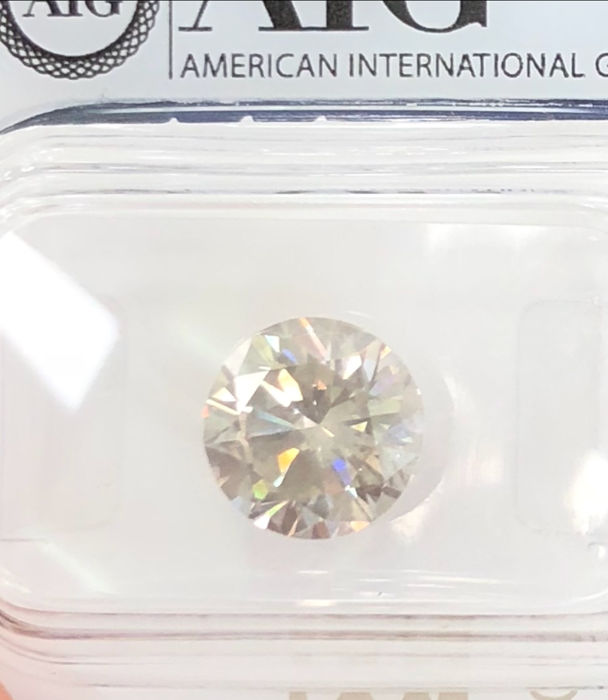2.31Ct  Round Brilliant-Cut  Diamond Natural  color H VVS2 +++Low   Reserve Price +++