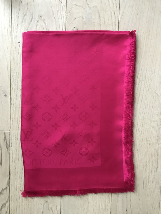 Louis Vuitton - Fuchsia sjaal Monogram
