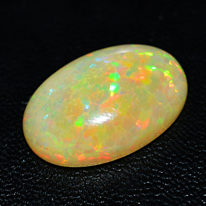 Large Premium Welo Fire Ethiopian Opal - Color Play - 14.50 ct