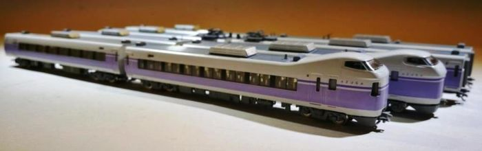 Kato N - 10-358 - Train unit - E351 Super Azusa - JR