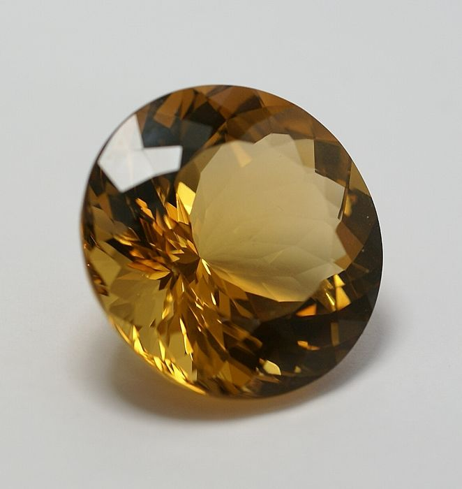Citrine,-yellow-brown-orangy ,  34.82ct