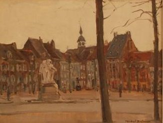Michel Dutrieux ( 1910-1993)  - Marketsquare Maaseik