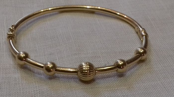 18K Gold Women's Bracelet Like New 17.5cm