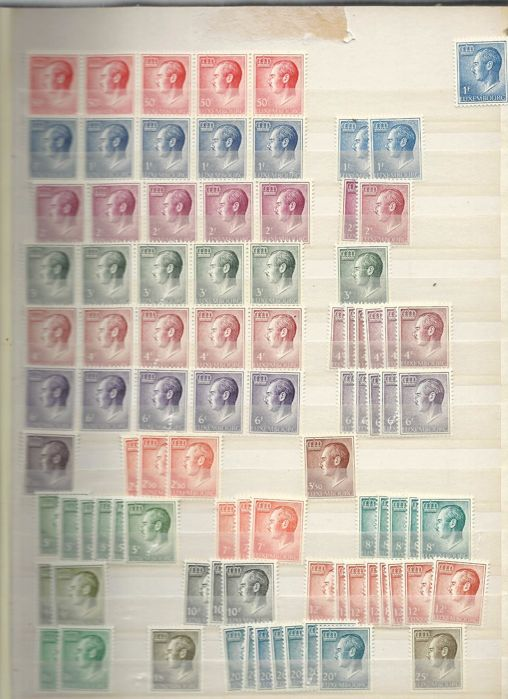 Luxembourg - batch of stamps from all periods