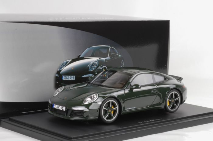 GT Spirit - 1:18 - Porsche 911 Carrera Club Coupe (991) - Exclusive - Official Porsche Factory edition