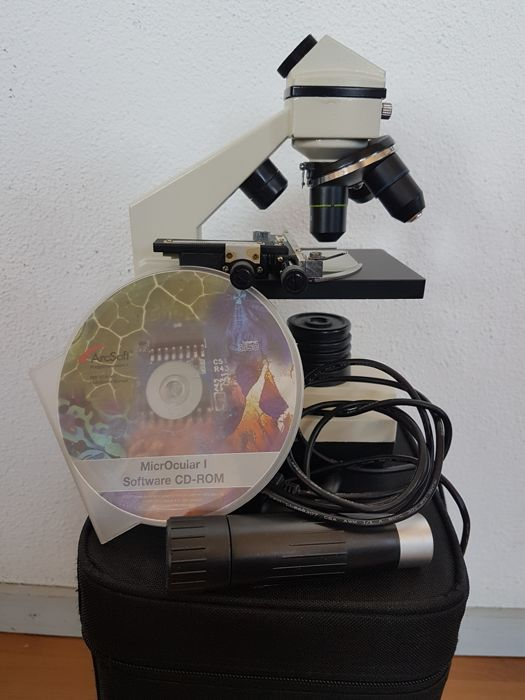 Bresser Biolux AL 20 x 1280x - microscope with HD USB camera -