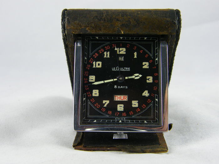 LeCoultre - 8-day travel watch with double date - Unisex - 1901-1949