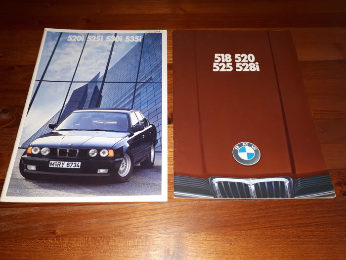 Original BMW sales brochures