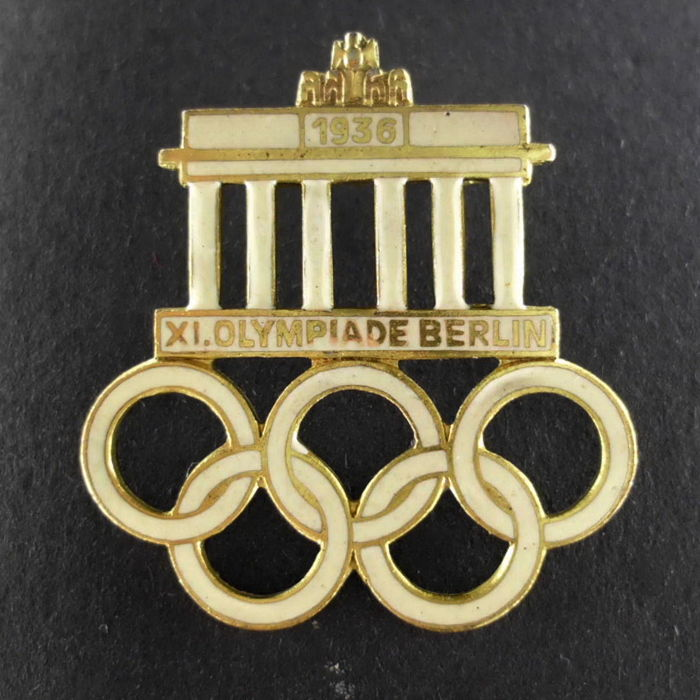 1936 Olympic Games Badge, Berlin, Third Reich