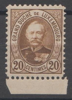 Luxembourg 1891 - Grand Duke Adolphe - Michel 59 AF