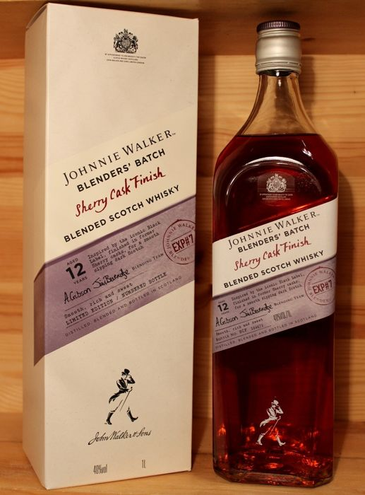 Johnnie Walker 12 Blender's Batch Sherry Cask Finish