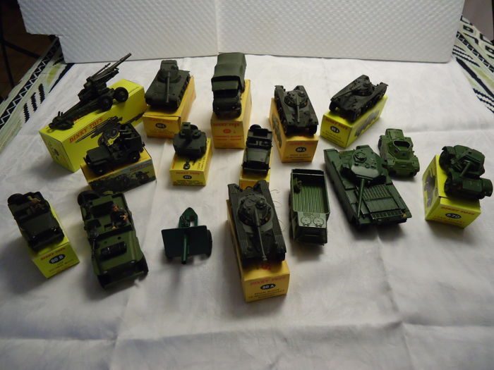Lot military vehicles in perfect condition