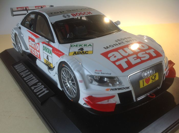 Norev Scale 1 18 Audi A4 Dtm 2011 Auto Test Catawiki