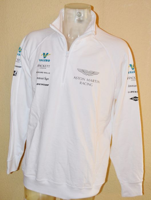 orig. Valero Aston Martin Team 1/4 Zip Jumper for the Raceteam