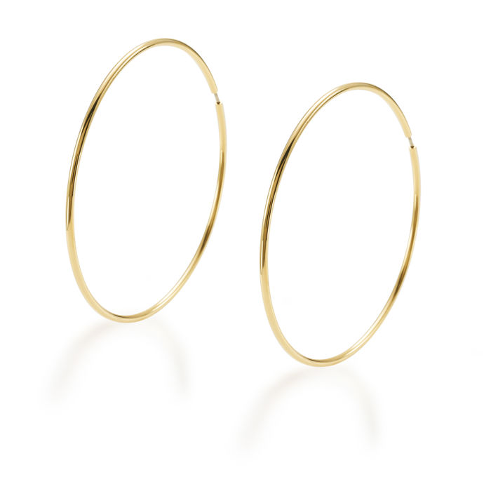 "18 kt yellow gold earrings from the ""Essence"" collection"