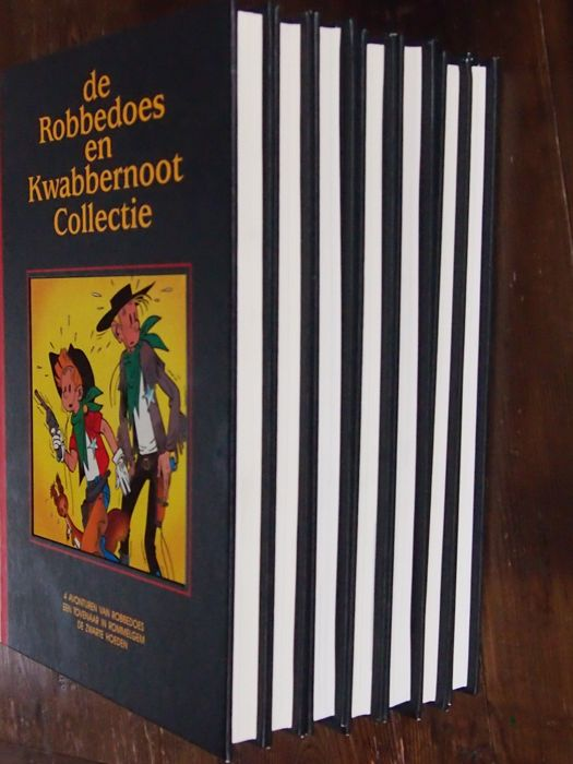 Robbedoes en Kwabbernoot - Lekturama collectie 1 t/m 7 - compleet - hc - (1993)