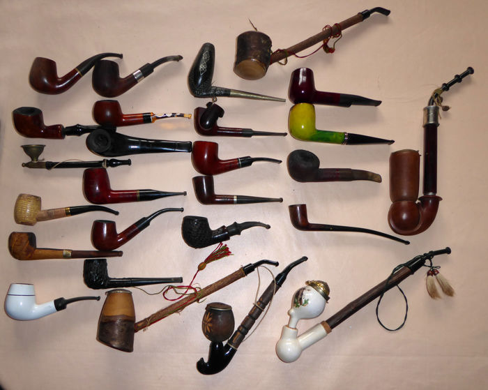 Pipe collection 26 pieces