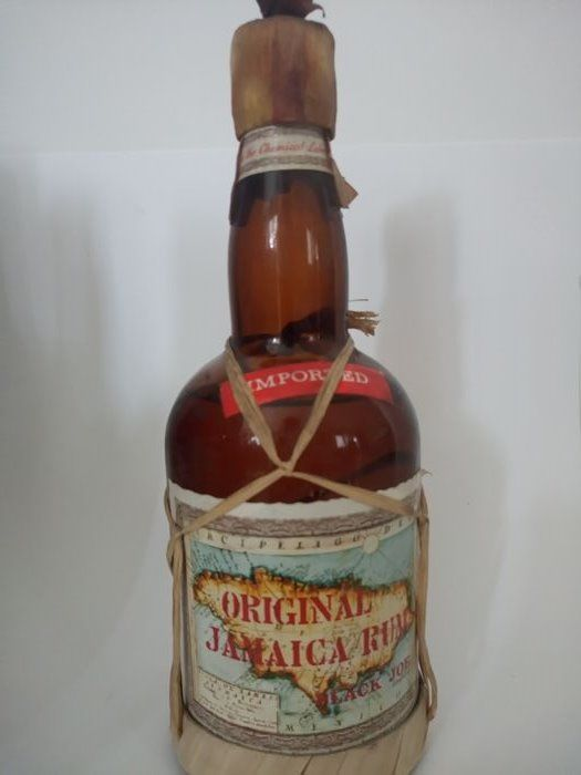 Jamaica Rum Black Joe 1980s
