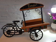 Large! Decorative freight bicycle - Flower cart