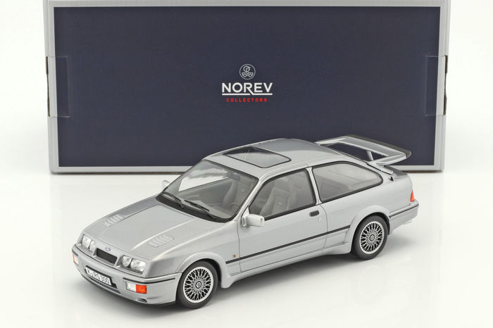 Norev - Scale 1/18 - Ford Sierra RS Cosworth 1986 - Grey metallic