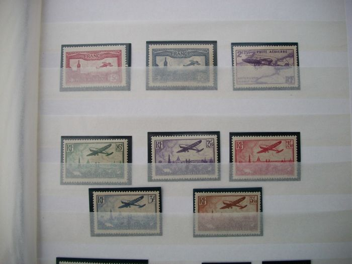 France 1930/1959 - Collection of Airmail Stamps