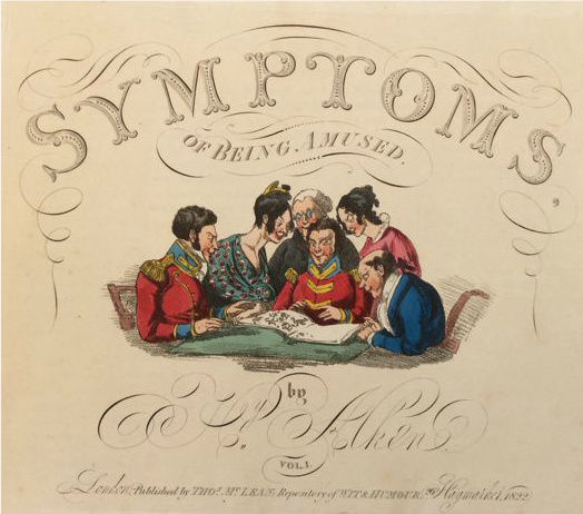 Henry Alken - Symptons of being amused Vol. I - 1822