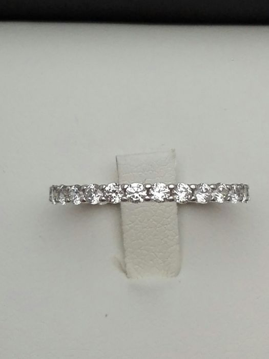18 karaat Witgoud - Ring - 1.20 ct Diamant