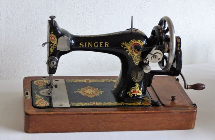Singer 40K Sewing Machine With Wooden Case 40 Catawiki Cool 1910 Singer Sewing Machine For Sale