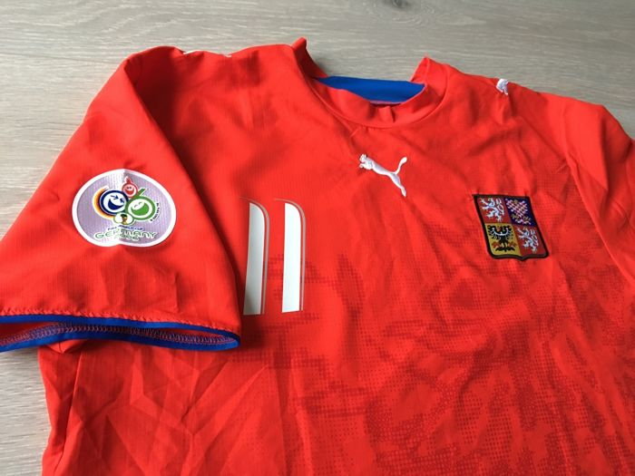 newest eb559 2cae9 Czech away shirt - Legend Pavel Nedved 11 - Worldcup 2006 ...
