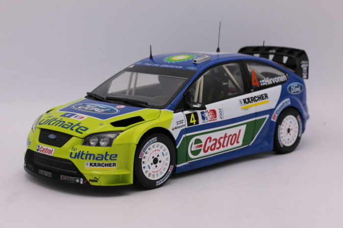 Sun Star - Scale 1/18 - Ford Focus WRC - 1st Rally Norway - 2007 ...
