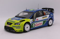 Sun Star - Schaal 1/18 - Ford Focus WRC - 1st Rally Norway - 2007